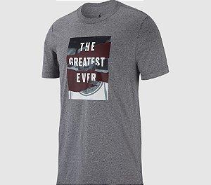 "NIKE - Camiseta Jordan The Greatest Ever ""Cinza"" -NOVO-"