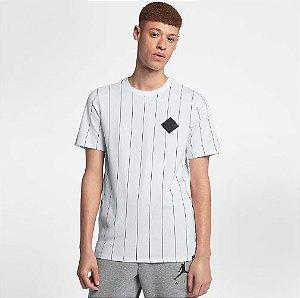 "NIKE - Camiseta Jordan 9 Jumpman ""Branco"" -NOVO-"