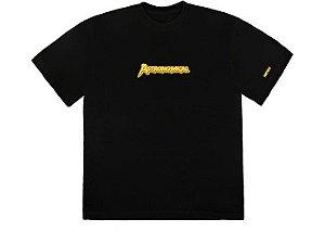 """TRAVIS SCOTT - Camiseta Astro Portrait """"Preto"""" -NOVO-"""