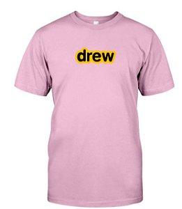 "DREW HOUSE - Camiseta Secret ""Rosa Claro"" -NOVO-"