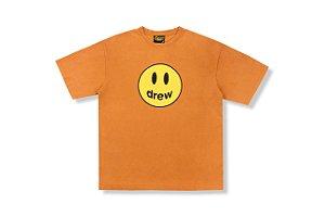 "DREW HOUSE - Camiseta Mascot ""Laranja Queimado"" -NOVO-"