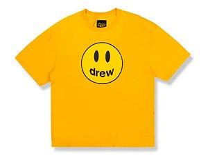 "DREW HOUSE - Camiseta Mascot ""Amarelo"" -NOVO-"