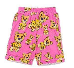 "DREW HOUSE - Shorts Pijama Theodore ""Rosa"" -NOVO-"