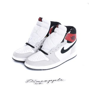 "NIKE - Air Jordan 1 Retro ""Light Smoke Grey"" (40,5 BR / 9 US) -NOVO-"