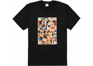 "SUPREME - Camiseta Pills ""Preto"" -NOVO-"
