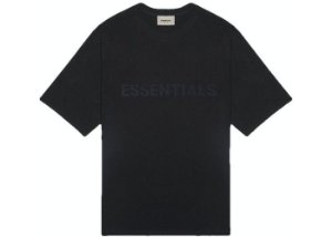 "FOG - Camiseta Essentials 3D Silicon Applique ""Preto"" -NOVO-"