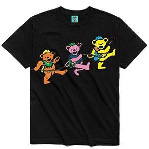 """CHINATOWN MARKET x GREATFUL DEAD - Camiseta PMA """"Preto"""" -NOVO-"""