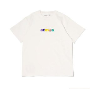 "ATMOS x SEAN WOTHERSPOON - Camiseta Embroidered ""Branco"" -NOVO-"
