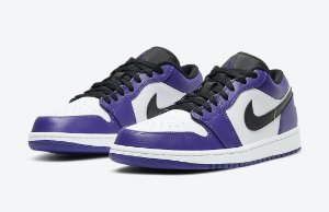 "NIKE - Air Jordan 1 Low ""Court Purple"" -NOVO-"