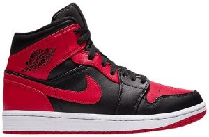 "NIKE - Air jordan 1 Mid GS ""Banned"" -NOVO-"