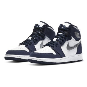 "NIKE - Air Jordan 1 Retro CO.JP GS ""Midnight Navy"" -NOVO-"