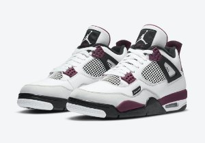 "NIKE x PSG - Air Jordan 4 Retro ""Bordeaux"" -NOVO-"