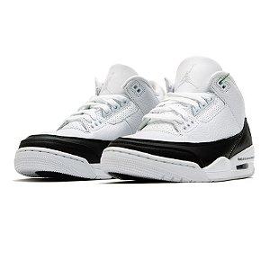 """NIKE x FRAGMENT - Air Jordan 3 Retro """"White"""" -NOVO-"""