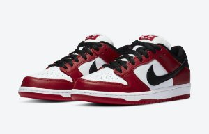 "NIKE - SB Dunk Low J-Pack ""Chicago"" (39,5 BR / 8 US) -NOVO-"