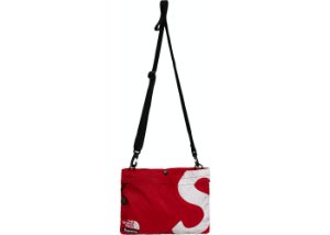 "SUPREME x THE NORTH FACE - Bolsa Shoulder S Logo ""Vermelho"" -NOVO-"