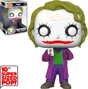 FUNKO POP! - Boneco Super Sized 10 Polegadas: The Joker #334 -NOVO-