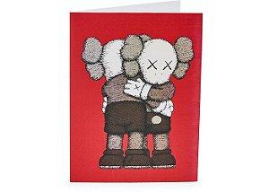 """!KAWS x MOMA - Cartão de Presente (12 Unidades) """"Vermelho"""" -NOVO-"""