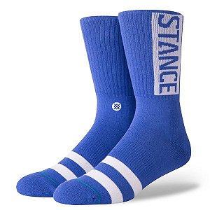 "STANCE - Meia Og ""Azul/Branco"" -NOVO-"