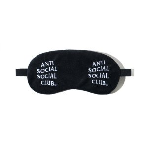 """ANTI SOCIAL SOCIAL CLUB - Máscara Para Dormir Offline """"Preto"""" -NOVO-"""