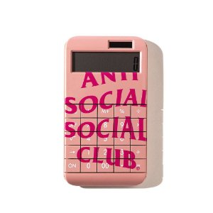 """ANTI SOCIAL SOCIAL CLUB - Calculadora 7734 """"Rosa"""" -NOVO-"""