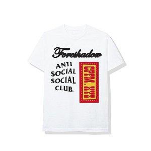 """ANTI SOCIAL SOCIAL CLUB x CPFM - Camiseta """"Branco"""" -NOVO-"""