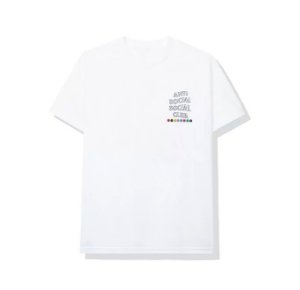 "ANTI SOCIAL SOCIAL CLUB - Camiseta Up To You ""Branco"" -NOVO-"