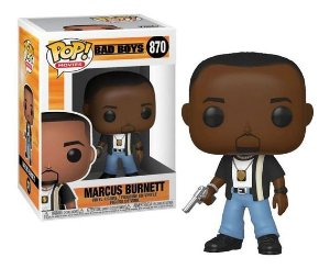 FUNKO POP! - Boneco Bad Boys: Marcus Burnett #870 -NOVO-