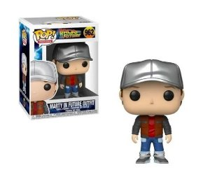 FUNKO POP! - Boneco Back To The Future: Marty In Future Outfit #962 -NOVO-