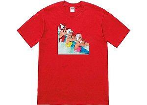 "SUPREME - Camiseta Swimmers ""Vermelho"" -NOVO-"