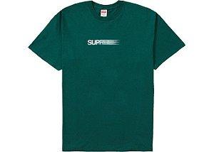 "SUPREME - Camiseta Motion Logo ""Verde"" -NOVO-"