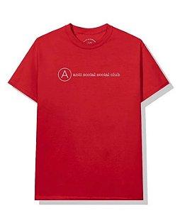"ANTI SOCIAL SOCIAL CLUB - Camiseta Add Me ""Vermelho"" -NOVO-"