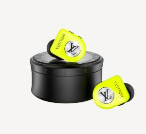 """LOUIS VUITTON - Fones de Ouvido Horizon Wireless """"Volt"""" -NOVO-"""