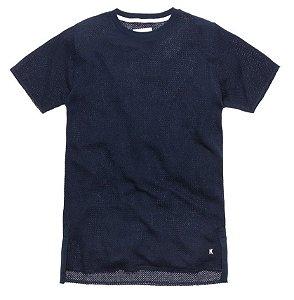 """KITH - Camiseta Oversized Frayed Hopkins """"Navy"""""""