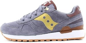 "!SAUCONY - Shadow Original Suede ""Blue/Gold"" -NOVO-"