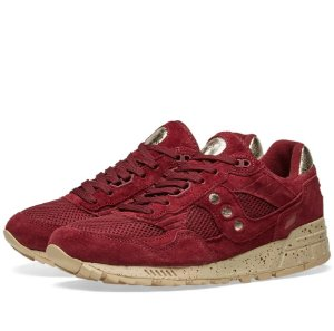 "SAUCONY - Shadow 5000 Gold Rush Pack ""Marron/Gold"" -NOVO-"