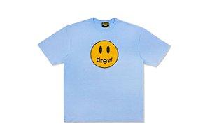 "DREW HOUSE - Camiseta Mascot ""Azul Claro"" -NOVO-"
