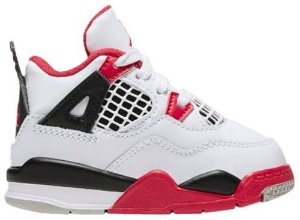 "NIKE - Air Jordan 4 Retro TD ""Fire Red"" -NOVO-"