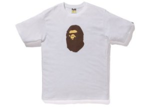 "BAPE - Camiseta Summer Bag Ape Head ""Branco"" -NOVO-"