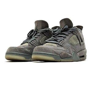 """!NIKE x KAWS - Air Jordan 4 Retro """"Cool Grey"""" (43,5 BR / 11,5 US) -USADO-"""