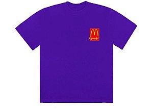 "TRAVIS SCOTT x MCDONALD'S - Camiseta Action Figure Series II ""Roxo"" -NOVO-"