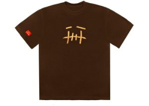 "TRAVIS SCOTT x MCDONALD'S - Camiseta Fry II ""Marrom"" -NOVO-"