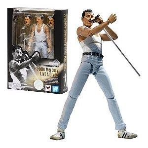 BANDAI - Boneco Freddie Mercury Live AID Ver. -NOVO-