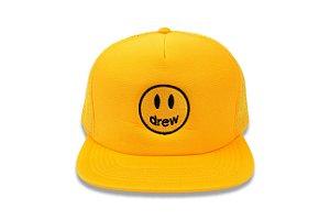 "DREW HOUSE - Boné Trucker Mascot ""Amarelo"" -NOVO-"