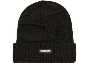 "SUPREME - Touca Paneled Seam ""Preto"" -NOVO-"