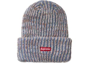"SUPREME - Touca Rainbow Knit Loose Gauge ""Azul Claro"" -NOVO-"
