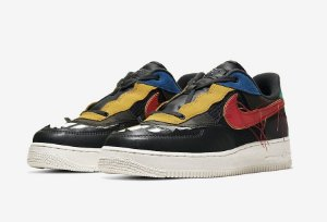 "NIKE - Air Force 1 Low ""BHM"" -NOVO-"