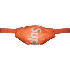 "SUPREME - Pochete Waterproof Reflective Speckled ""Laranja"" -NOVO-"