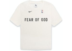 "NIKE x FEAR OF GOD - Camiseta Warm Up ""Sail""  -NOVO-"