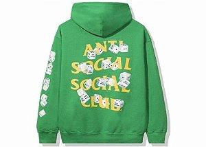 "ANTI SOCIAL SOCIAL CLUB - Moletom Take Me Home ""Verde"" -NOVO-"