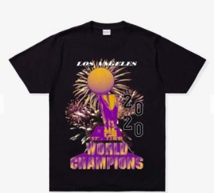 "UNDEFEATED - Camiseta Lakers 17th Championship ""Preto"" -NOVO-"
